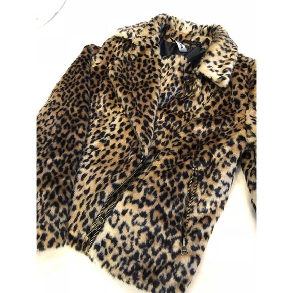 31db3f900f8a Design Lab Lord & Taylor Jackets & Coats | Design Lab Leopard Jacket ...